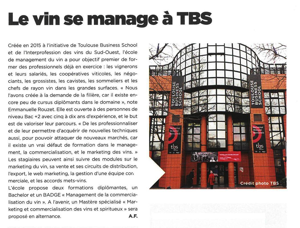 Aperçu de l'article avec logo TBS